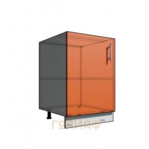 Нижний шкаф 55 1Д рабочий стол (500)