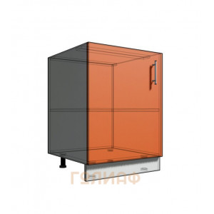 Нижний шкаф 60 1Д рабочий стол (500)