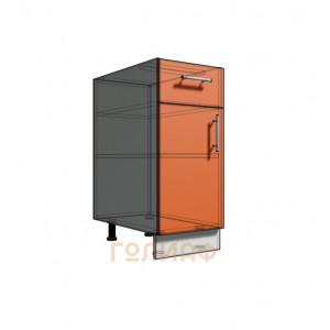 Нижний шкаф 35 рабочий 1 ящик (500)