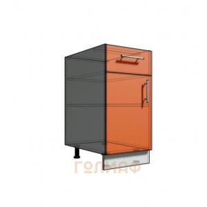 Нижний шкаф 40 рабочий 1 ящик (500)