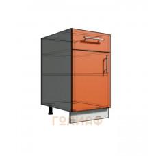 Нижний шкаф 45 рабочий 1 ящик (500)