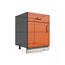 Нижний шкаф 60 рабочий 1 ящик 1Д (500)