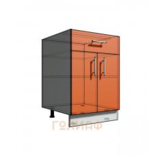 Нижний шкаф 55 рабочий 1 ящик 2Д (500)