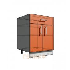 Нижний шкаф 60 рабочий 1 ящик 2Д (500)