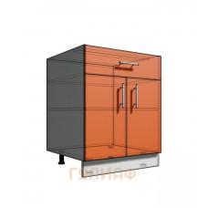 Нижний шкаф 65 рабочий 1 ящик 2Д (500)