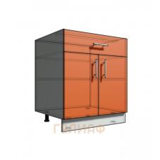 Нижний шкаф 70 рабочий 1 ящик 2Д (500)
