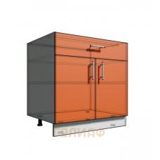Нижний шкаф 80 рабочий 1 ящик 2Д (500)