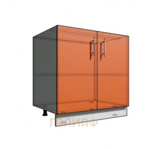 Нижний шкаф 80 2Д рабочий стол (500)