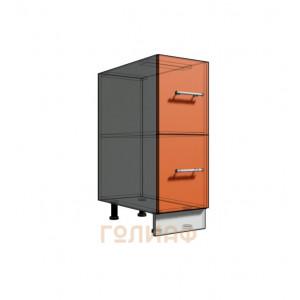 Нижний шкаф 30 рабочий 2 ящика (500)