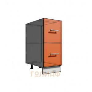 Нижний шкаф 35 рабочий 2 ящика (500)