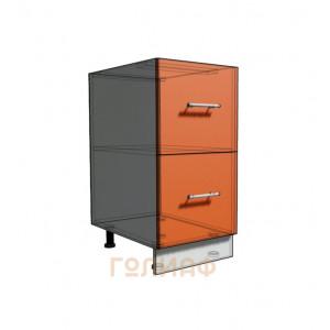 Нижний шкаф 40 рабочий 2 ящика (500)