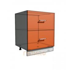 Нижний шкаф 65 рабочий 2 ящика (500)