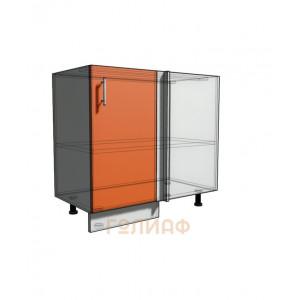 Нижний шкаф угловой проходного типа 850 (900) фасад 30 (500)