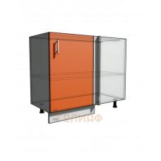 Нижний шкаф угловой проходного типа 950 (1000) фасад 40 (500)