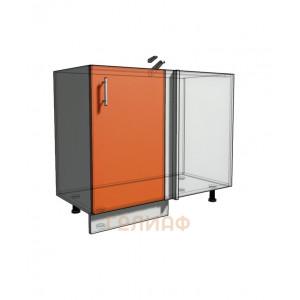 Нижний шкаф угловой проходного типа 950 (1000) фасад 40М (500)