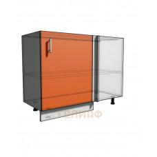 Нижний шкаф угловой проходного типа 1050 (1100) фасад 50 (500)