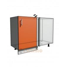 Нижний шкаф угловой проходного типа 1050 (1100) фасад 50М (500)