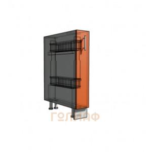 Нижний шкаф 15 под бутылочницу (500)