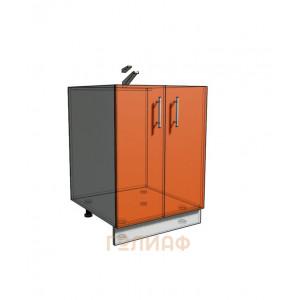 Нижний шкаф 60 2Д под мойку (500)