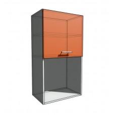 Верхний навесной шкаф 55 см с открытой полкой 1Д гор (920)