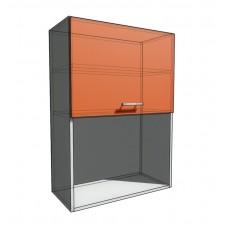 Верхний навесной шкаф 65 см с открытой полкой 1Д гор (920)
