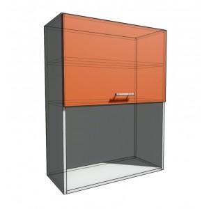 Верхний навесной шкаф 70 см с открытой полкой 1Д гор (920)
