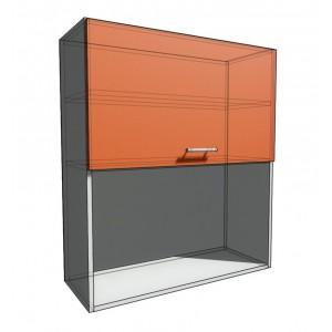 Верхний навесной шкаф 80 см с открытой полкой 1Д гор (920)