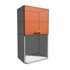 Верхний навесной шкаф 50 см с открытой полкой СВЧ (920)