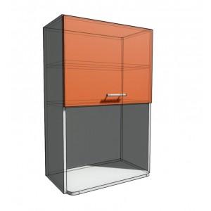 Верхний навесной шкаф 60 см с открытой полкой СВЧ (920)