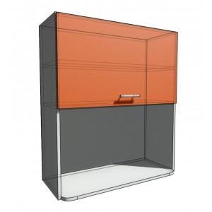 Верхний навесной шкаф 80 см с открытой полкой СВЧ (920)