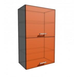Верхний навесной шкаф 50 см 2Д гор (920)