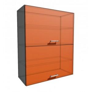 Верхний навесной шкаф 75 см 2Д гор (920)