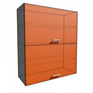 Верхний навесной шкаф 80 см 2Д гор (920)