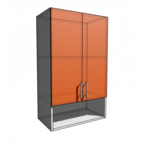 Верхний навесной шкаф 55 см с открытой полкой 2Д (920)