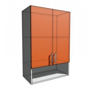 Верхний навесной шкаф 60 см с открытой полкой 2Д (920)