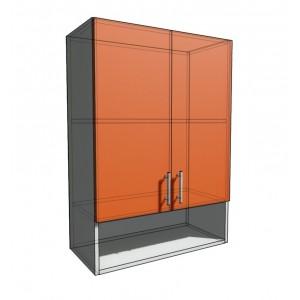 Верхний навесной шкаф 65 см с открытой полкой 2Д (920)