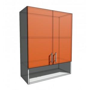 Верхний навесной шкаф 70 см с открытой полкой 2Д (920)