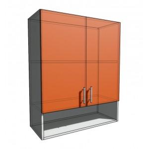 Верхний навесной шкаф 75 см с открытой полкой 2Д (920)