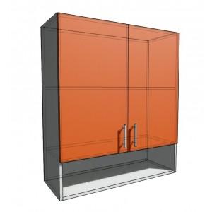 Верхний навесной шкаф 80 см с открытой полкой 2Д (920)