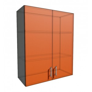 Верхний навесной шкаф 75 см 2Д (920)