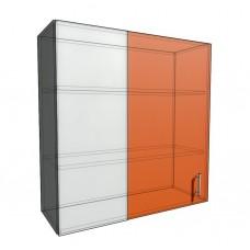 Верхний навесной шкаф 90 см проходного типа (920)