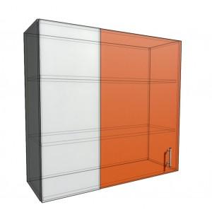 Верхний навесной шкаф 100 см проходного типа (920)