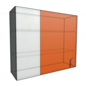 Верхний навесной шкаф 110 см проходного типа (920)