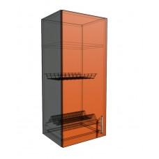 Верхний навесной шкаф 40 см 1Д под сушилку (920)