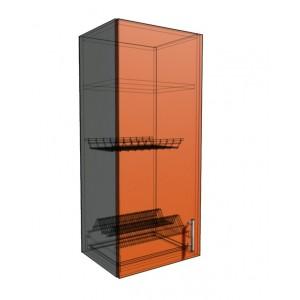Верхний навесной шкаф 40 см под сушилку (920)