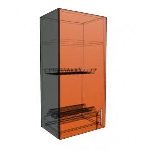 Верхний навесной шкаф 45 см 1Д под сушилку (920)