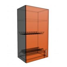 Верхний навесной шкаф 50 см 1Д под сушилку (920)