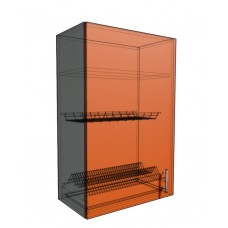Верхний навесной шкаф 60 см 1Д под сушилку (920)