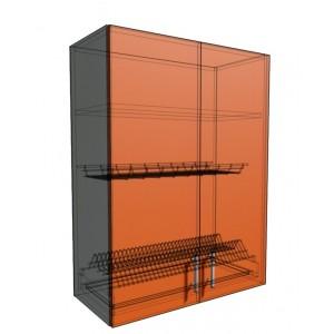 Верхний навесной шкаф 70 см под сушилку (920)