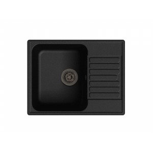 Кварцевая мойка LEX GARDA 620 BLACK